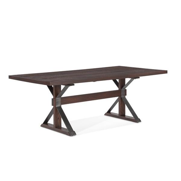 Saloom Tremont 42 X 60 Inch Rectangular Burnt Oak Dining Table