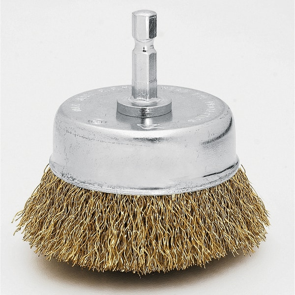 Vermont American 16783 2.75-inch Coarse Cup Wire Brush 17778875