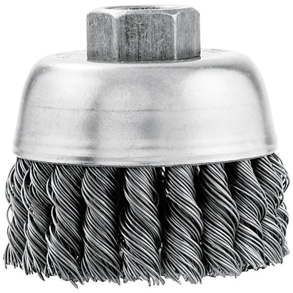 Vermont American 16830 3-inch Knotted Wire Industrial Cup Brush 17778920