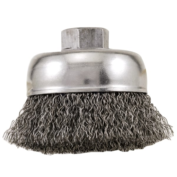 Vermont American 16831 3-inch Industrial Cup Wire Brush 17778922