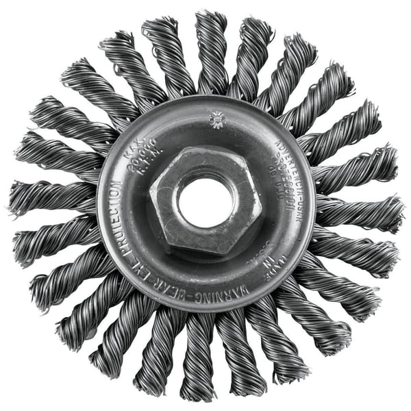 """Vermont American 16836 4"""" Twisted Industrial Wire Wheel"""