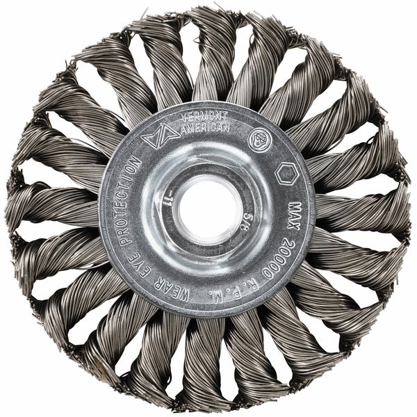 Vermont American 16855 4-inch Knotted Wire Wheel 17778933