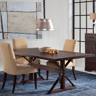Saloom Tremont 42 x 80-inch Rectangular Burnt Oak Dining Table