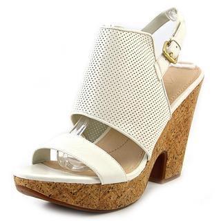Naya Women's 'Misty' White Leather Dress Shoes