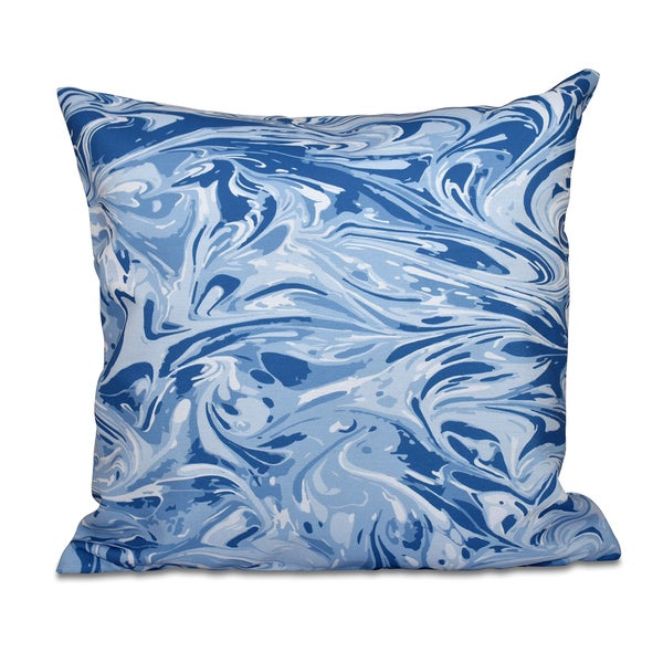 Melange Geometric Print 20-inch Throw Pillow
