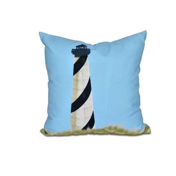 Outer Banks Geometric Print 20-inch Throw Pillow