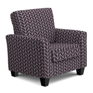 Portfolio Redmond Deep Purple Herringbone SoFast Chair