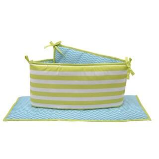 Belle Hide and Seek Crib Bumper