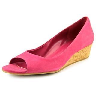 Cole Haan Women's 'Elsie.Ot.Wedge.II' Nubuck Dress Shoes