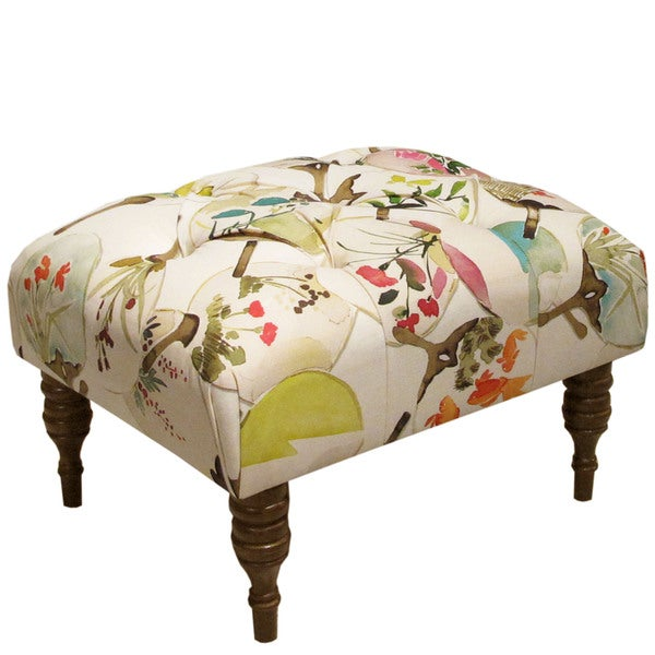 Skyline Furniture Mia Multi Tufted Ottoman