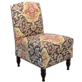 Skyline Furniture Jaipur Kohl Armless Nail Button Chair