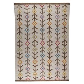 M.A.Trading Hand-woven Khema7 Multicolored Rug (4'6 x 6'6)