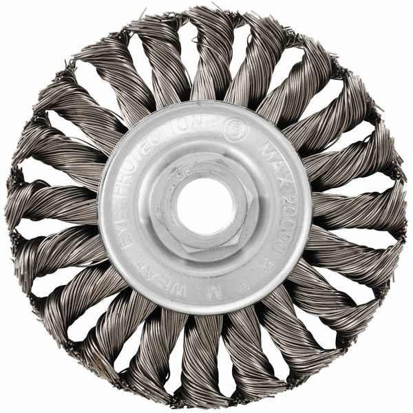 Vermont American 16856 4-inch Knotted Wire Wheel 17780575