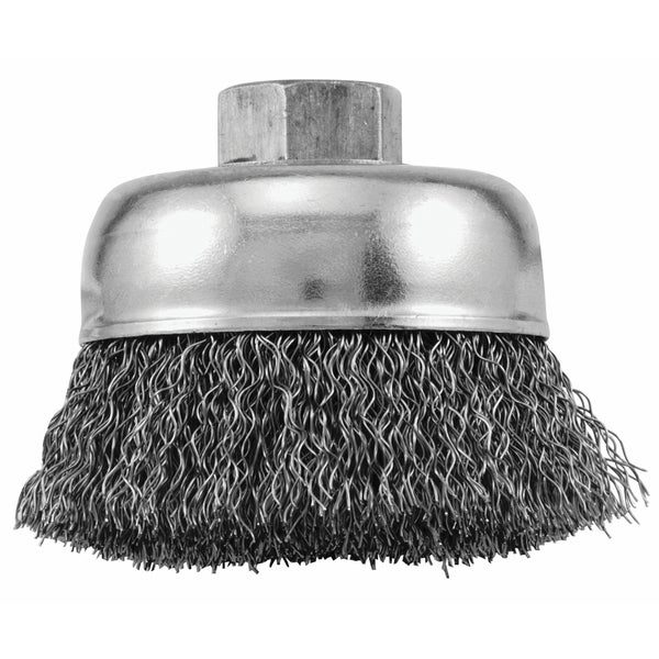 Vermont American 16854 3-inch Crimped Wire Brush 17780578