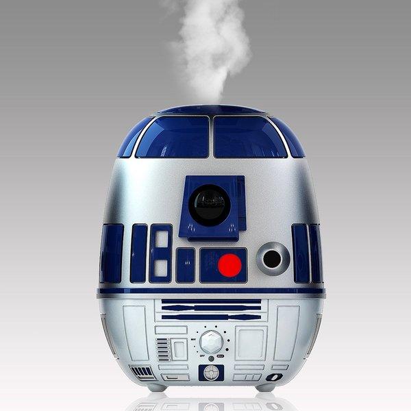 Disney Star Wars R2D2 Ultrasonic Cool-Mist Humidifier in Blue/Silver 17780601
