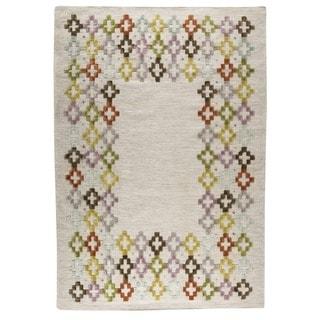 M.A.Trading Hand-woven Khema3 Multicolored Rug (5'6 x 7'10)