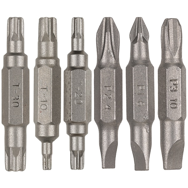Vermont American 16290 6-piece Assorted Double Ended Power Bit Set