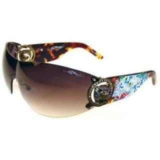 Ed Hardy Ehs 030 Color Tortoise Sunglasses