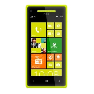 HTC 8X 8GB 8MP Camera Unlocked GSM 4G LTE Windows 8 OS Cell Phone - Yellow