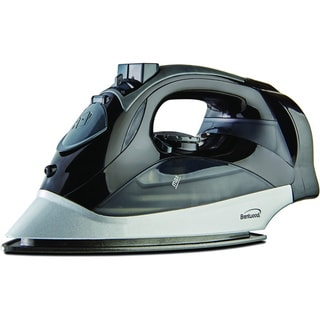 Brentwood MPI-59B Black Steam Iron with Retractable Cord