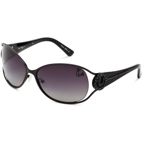 True Religion Jackie Black Sunglasses
