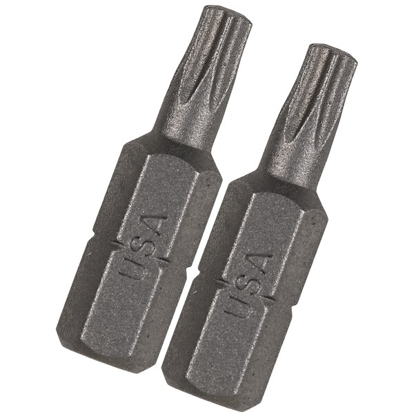Vermont American 15405 1-inch TX20 Extra Hard Torx Insert Power Bits 2-count