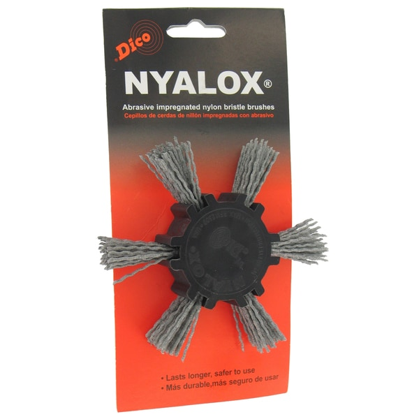 Dico 7200033 4-inch Extra Coarse Nyalox Flap Wire Brush