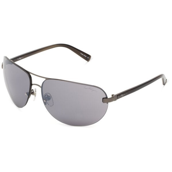 True Religion Reese Dark Grey and Soft Gun Sunglasses