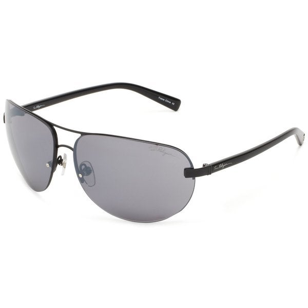 True Religion Reese Black and Shiny Black Sunglasses