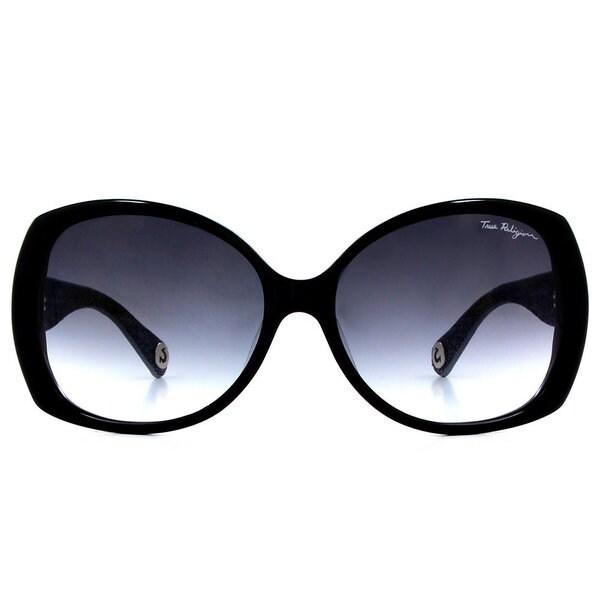 True Religion Ava Black Sunglasses