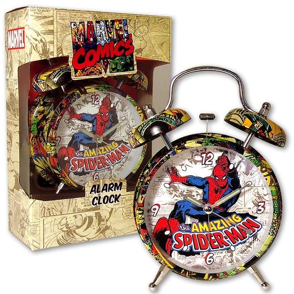 Marvel Comic Spider-Man 4-inch Alarm Clock 17781599