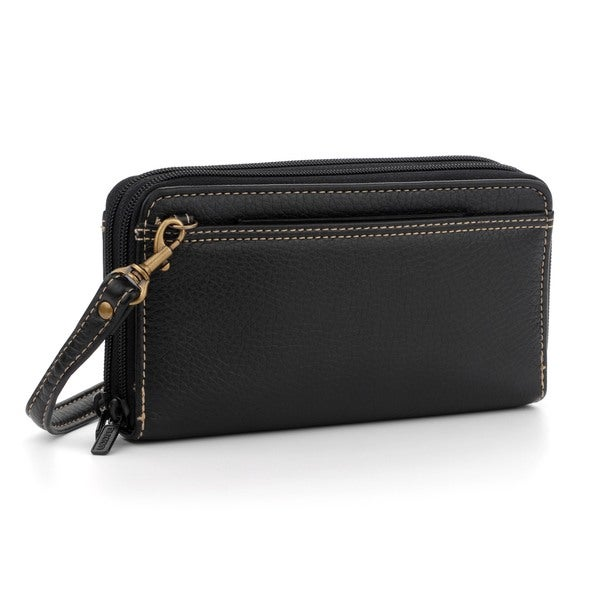 Buxton Ultimate Double Zip Organizer Wallet