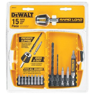 Dewalt DW2513 15-piece Rapid Load Power Bit Set