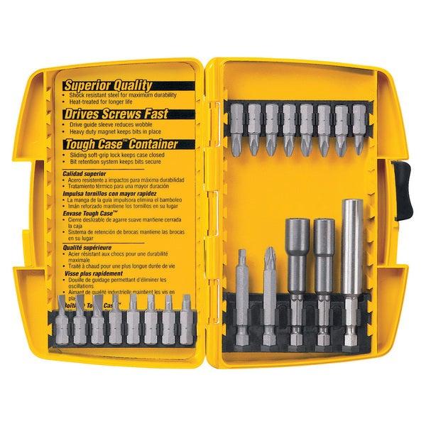 Dewalt DW2161 21-piece Tough Case Power Bit Set