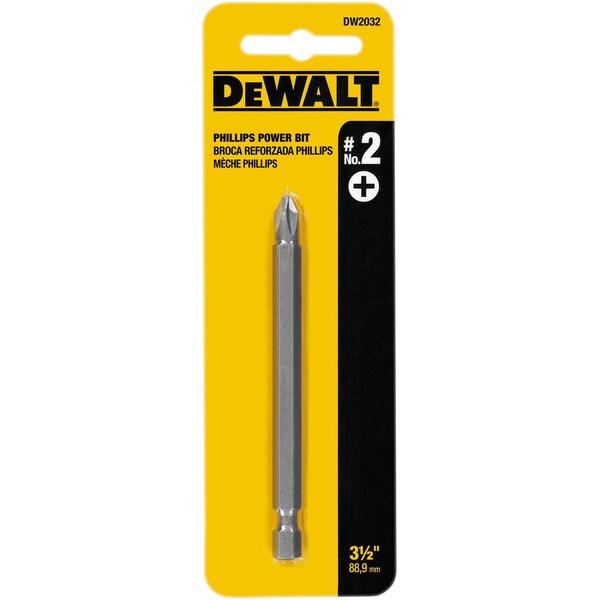 Dewalt DW2032 3.5-inch #2 Phillips Power Bits