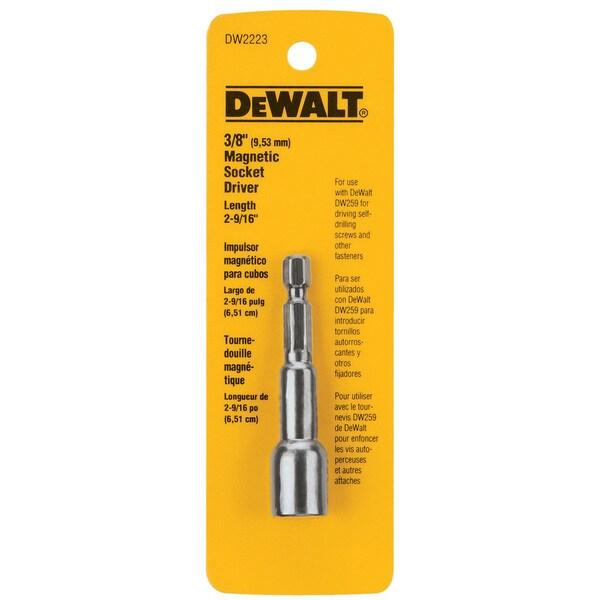 Dewalt DW2223 .375-inch Magnetic Nut Drivers