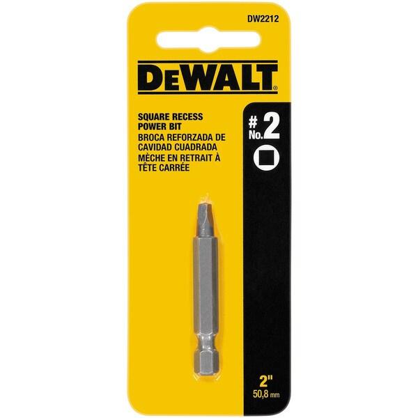 Dewalt DW2212 2-inch #2 Square Recess Power Bits