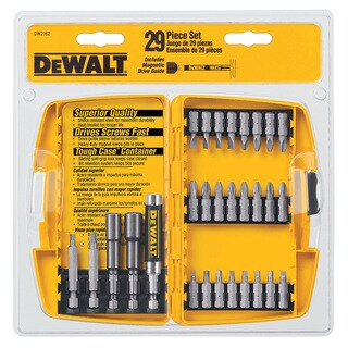 Dewalt DW2162 29-piece Screwdriving Set With Tough Case
