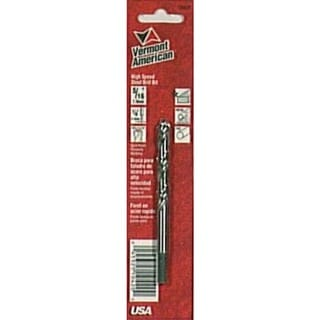 Vermont American 10420 5/16-inch Reduced Shank High Speed Steel Drill Bits
