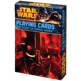 CartaMundi 1809 The Story Of Darth Vader Playing Cards