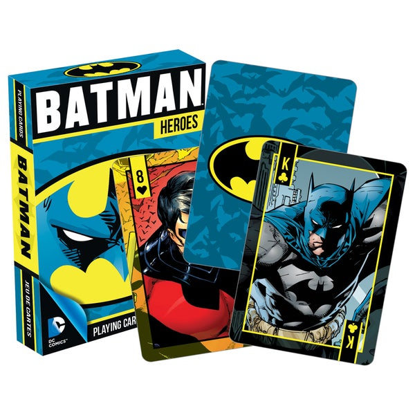 Batman 52266 Batman Heros Playing Cards