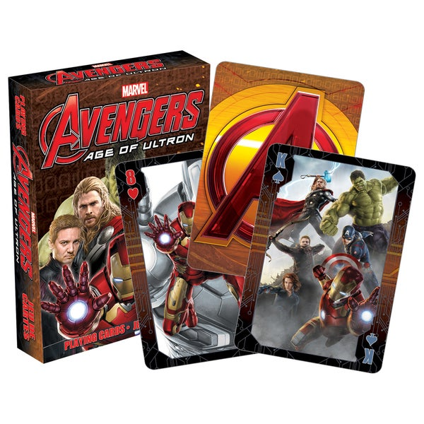 Marvel Avengers Age of Ultron 52336 Avengers 2 Playing Cards