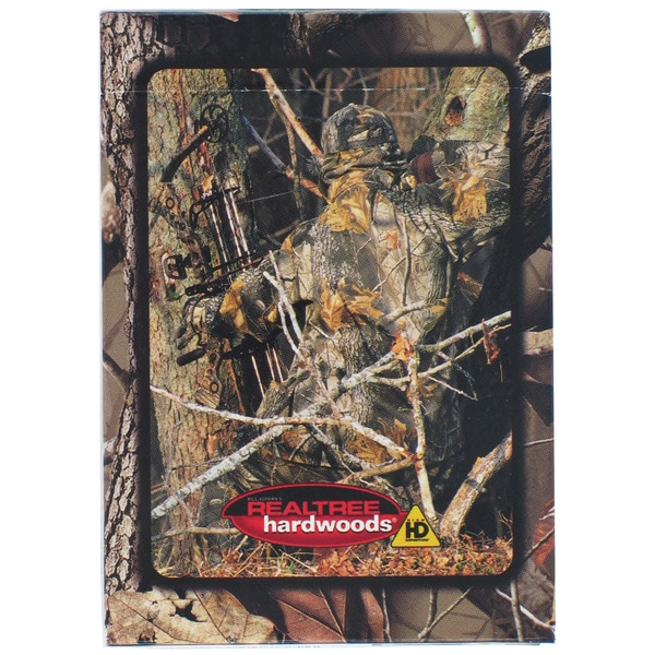 Bicycle 1002976 RealTree Hardwoods Camouflage Playing Cards