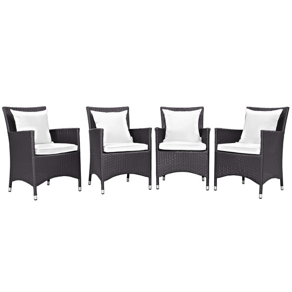 Gather 4 Piece Outdoor Patio Dining Set