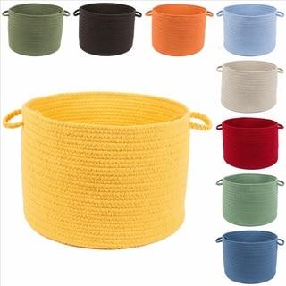 Rhody Rug Venice 12 x 18-inch Braided Basket