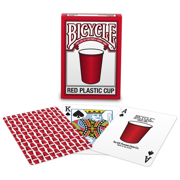 Bicycle 1026879 Red Cup Playing Cards 52 Card Pack