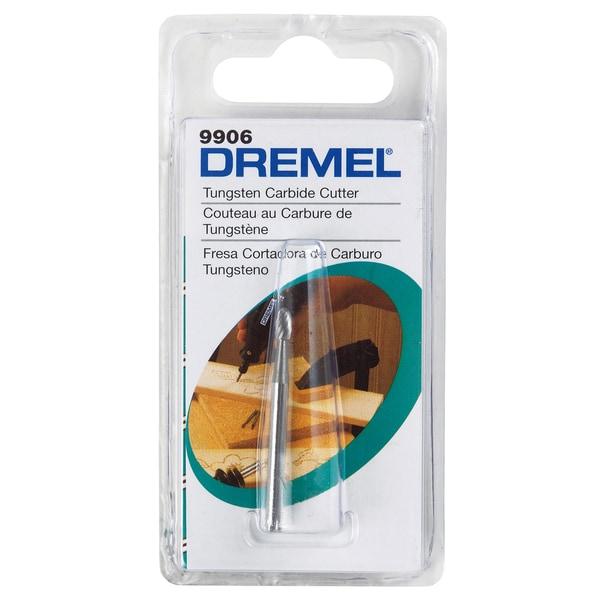 Dremel 9906 0.125-inch Tungsten Carbide Cutter