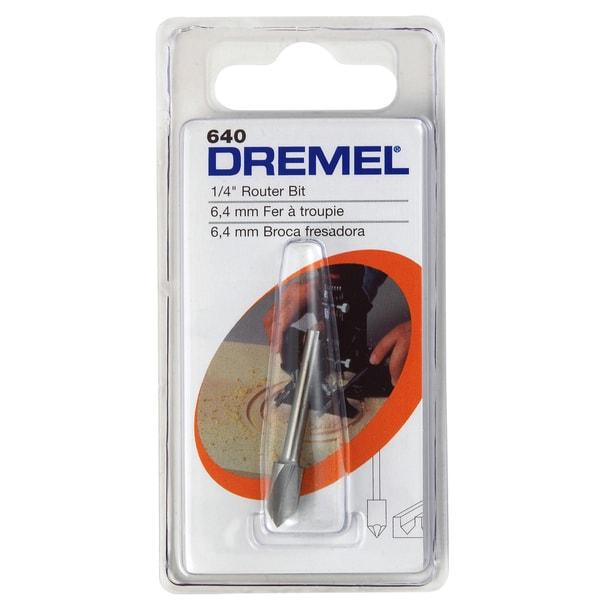 Dremel 640 0.25-inch V Groove Router Bit