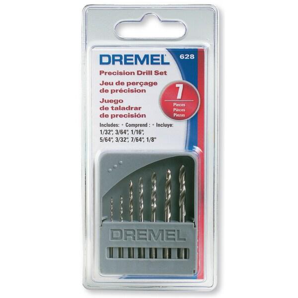Dremel 628-01 7-piece Drill Bit Set