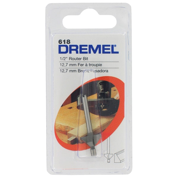Dremel 618 45-degree Chamfer Router Bit